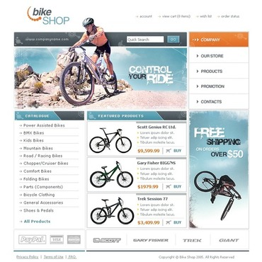 Cycling Website Template
