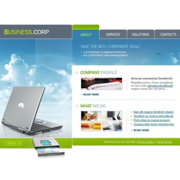 Business Flash Template