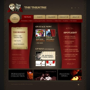 Theater Flash Template