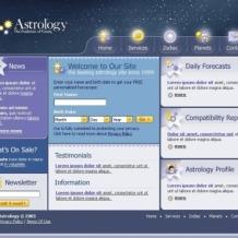 Astrology SWiSH Template