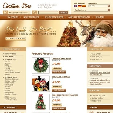 Christmas CRE Loaded Template