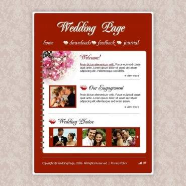 Wedding Album PHP-Nuke Template