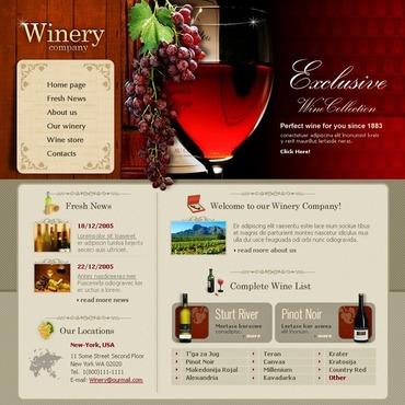 Winery SWiSH Template
