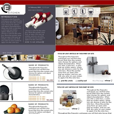 Housewares Website Template