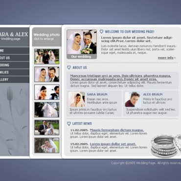 Wedding Album SWiSH Template