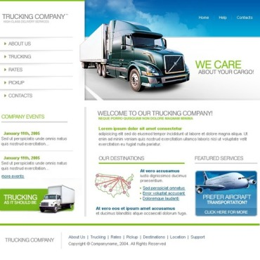 Trucking SWiSH Template