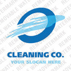 Cleaning Logo Template