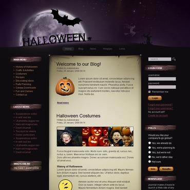 Halloween Joomla Template
