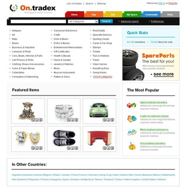 Auction Website Template