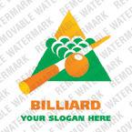 Billiards Logo Template