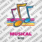 Music Portal Logo Template