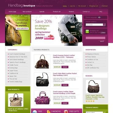 Handbag ZenCart Template