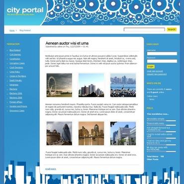 City Portal Drupal Template