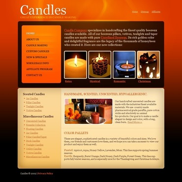 Crafts Website Template