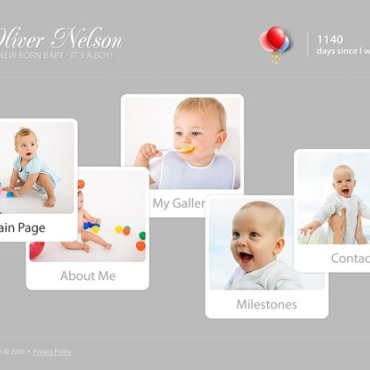 Newborn Flash Template