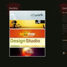 Design Studio Flash Template