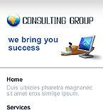 Consulting Mobile Template