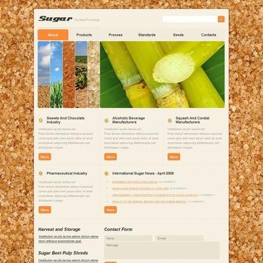 Food & Drink Website Template