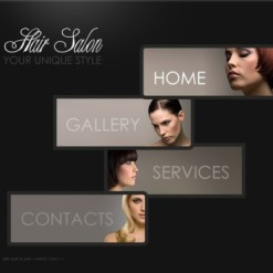 Hair Salon SWiSH Template