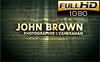 Photographer Portfolio After Effects Intro