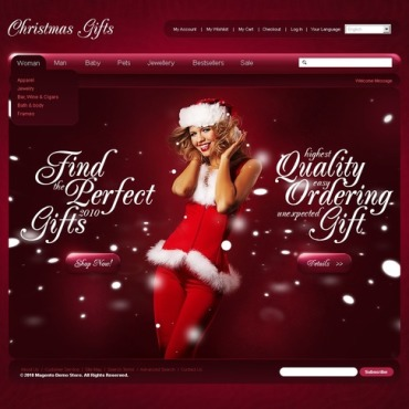 Christmas Magento Theme