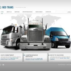Transportation Flash Template