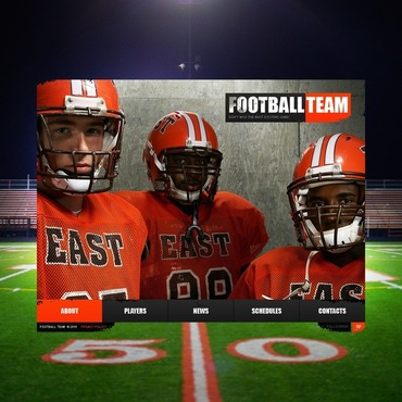 Football Flash Template