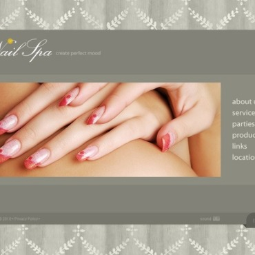 Nail Salon Flash Template