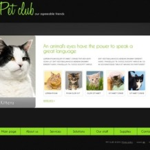Animals & Pets Flash Template