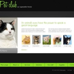 Animals & Pets Flash Template