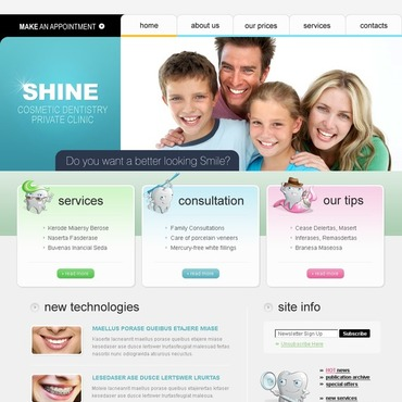 Dentistry SWiSH Template