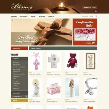 Christian OsCommerce Template