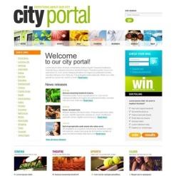 City Portal SWiSH Template