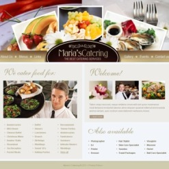 Catering SWiSH Template