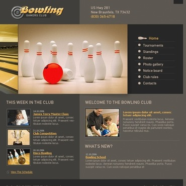 Bowling Turnkey Website 2.0