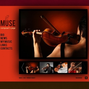 Music Flash Template
