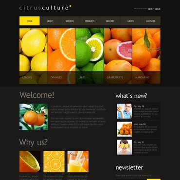 Fruit Drupal Template