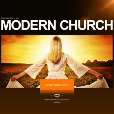 Religious Flash CMS Template