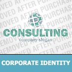 Consulting Corporate Identity Template #34144