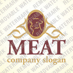 Cattle Farm Logo Template