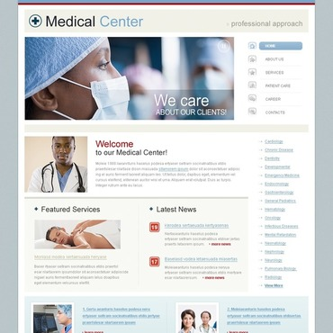 Medical SWiSH Template #34260