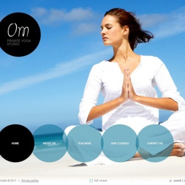 Yoga SWiSH Template