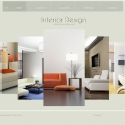 Interior Design SWiSH Template