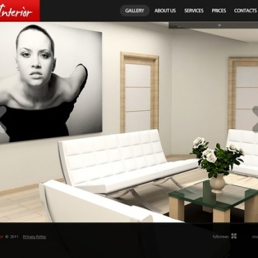 Interior Design Flash Template