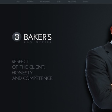Law Firm Flash Template