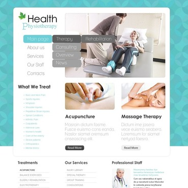 Rehabilitation WordPress Theme