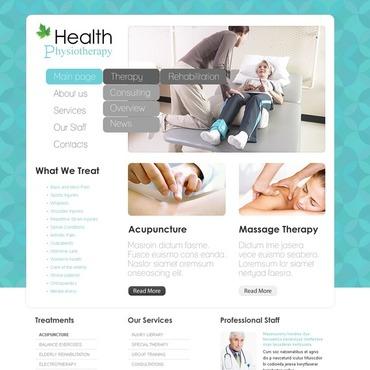 Rehabilitation WordPress Theme