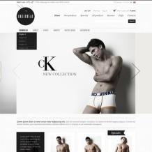 Men's Underwear Facebook Flash Template