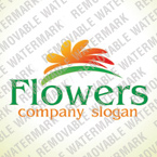Flowers Logo Template