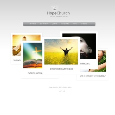 Christian Facebook Flash Template